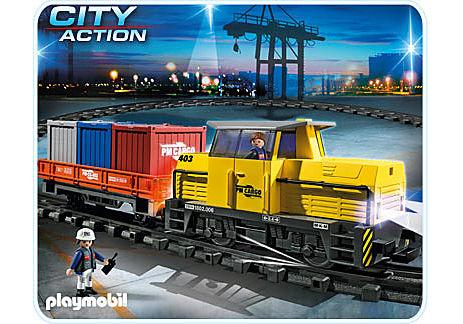5258-A Neuer RC-Güterzug mit Licht und Sound detail image 1