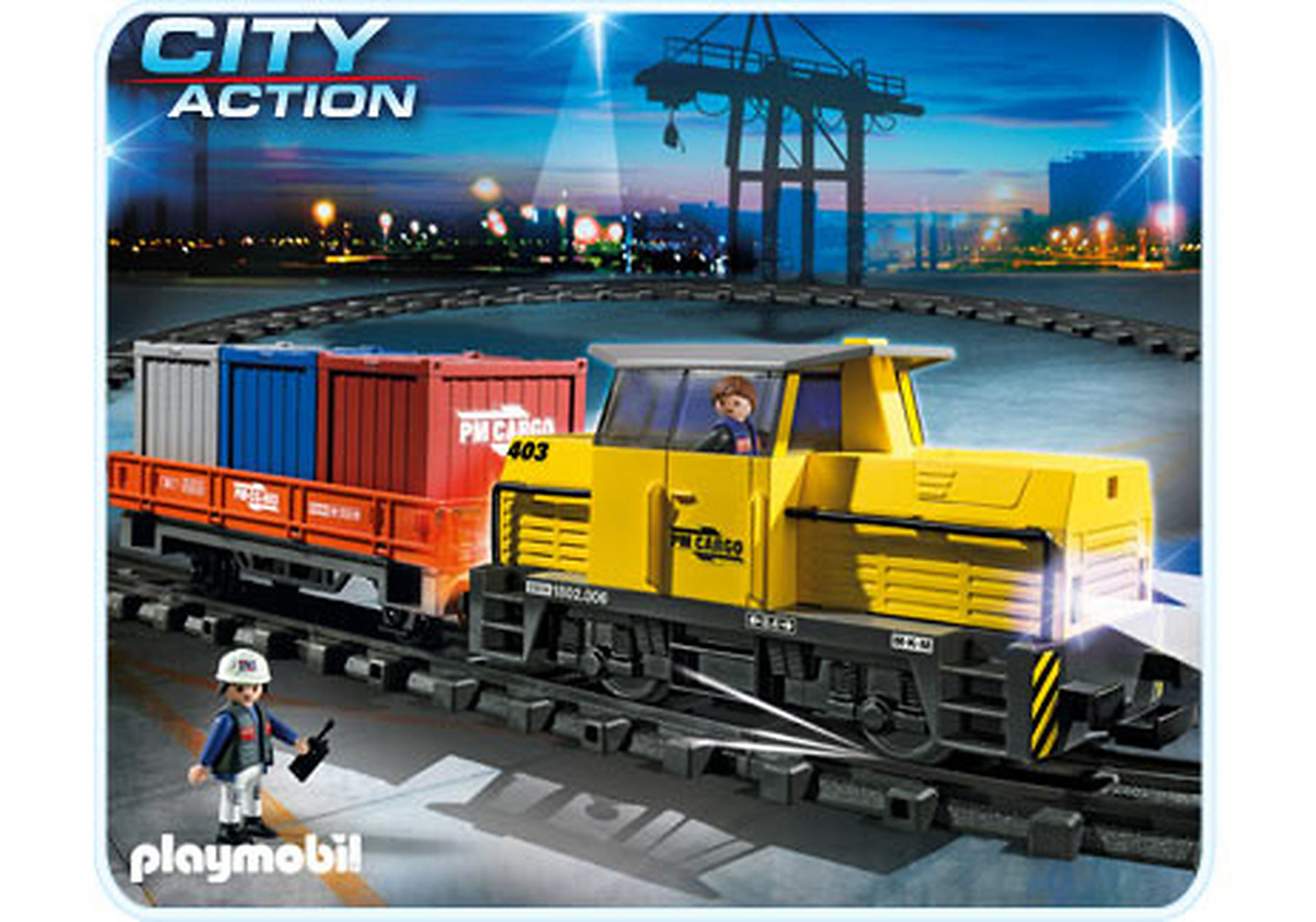 5258-A Neuer RC-Güterzug mit Licht und Sound zoom image1