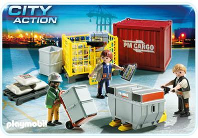 Cargo Team Mit Ladegut