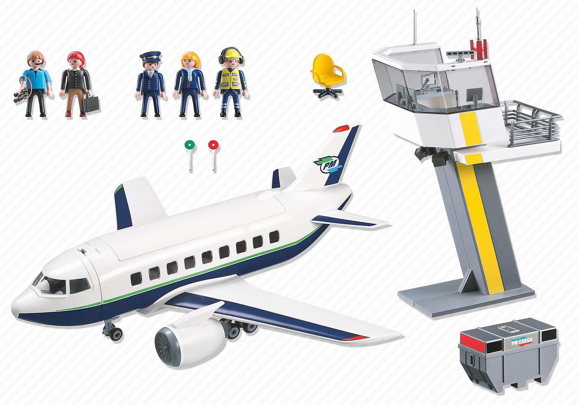 5261 Cargo- und Passagierflugzeug zoom image4