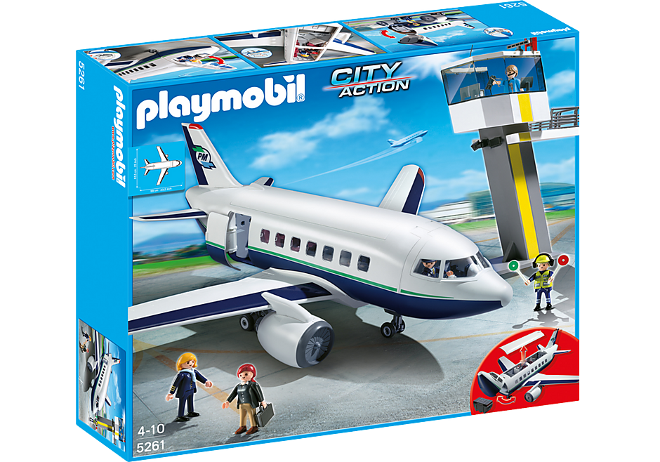 5261 Cargo- und Passagierflugzeug detail image 3