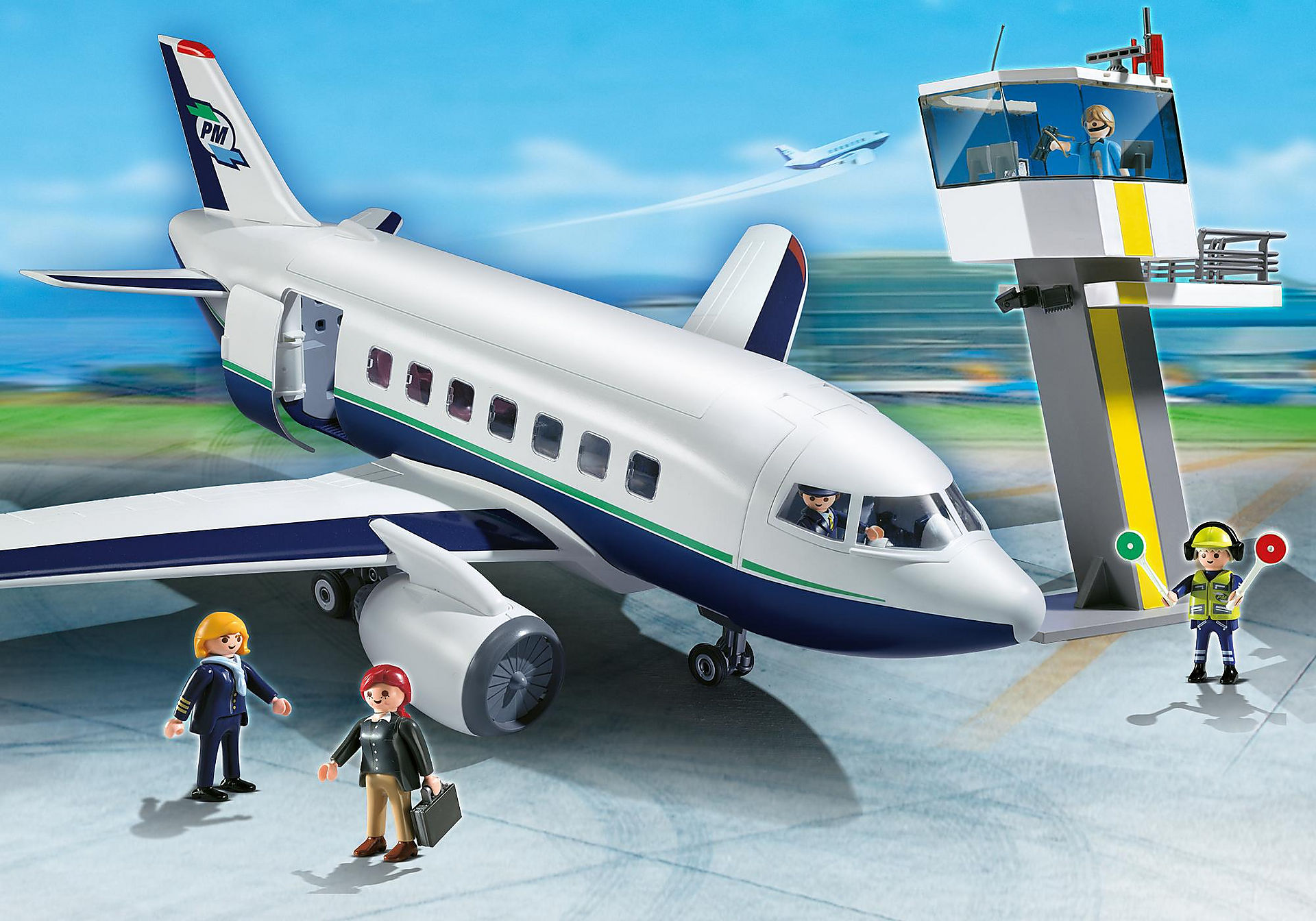 5261 Cargo- und Passagierflugzeug zoom image1
