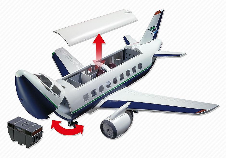 5261 Cargo- und Passagierflugzeug detail image 5