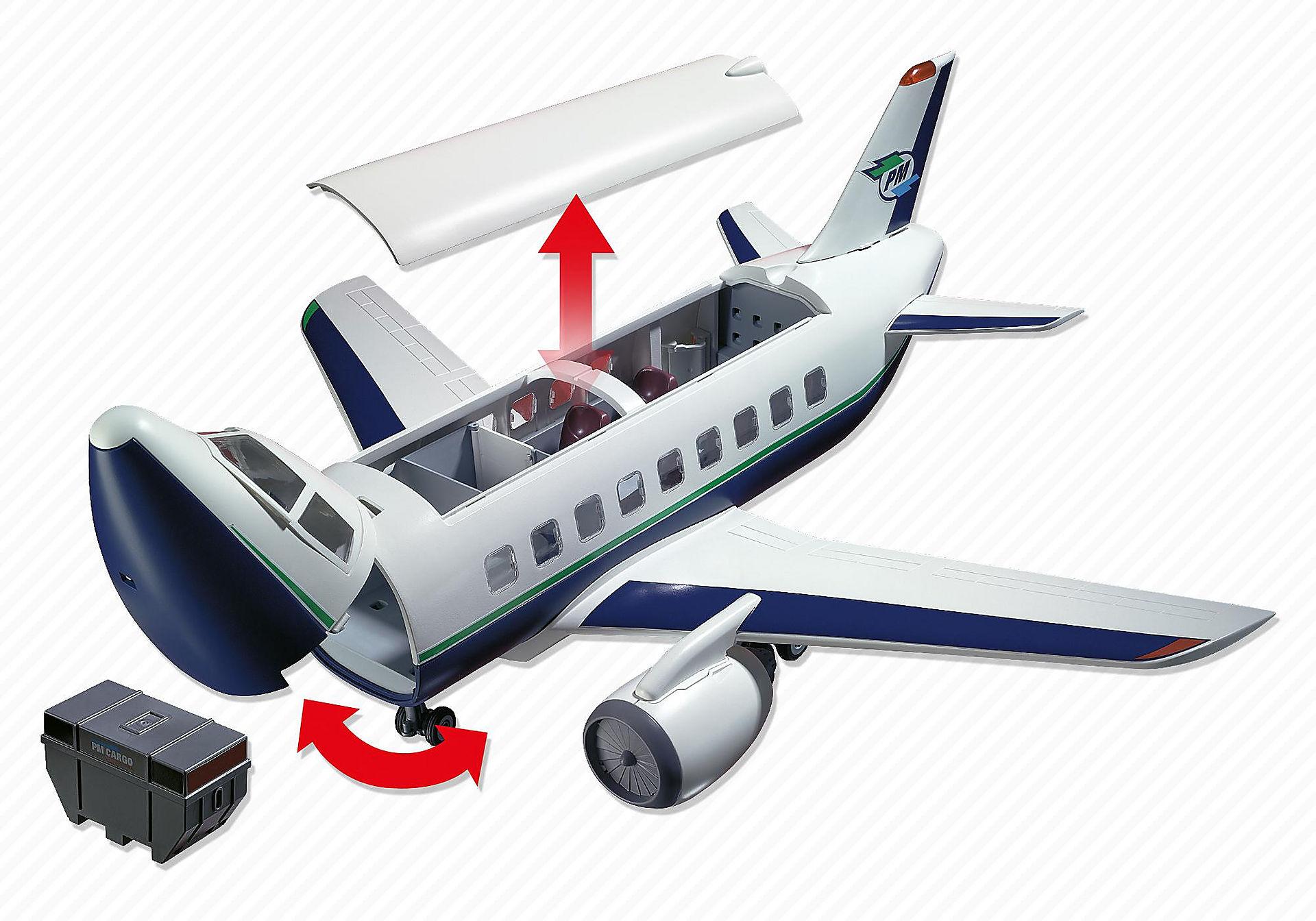 5261 Cargo- und Passagierflugzeug zoom image5