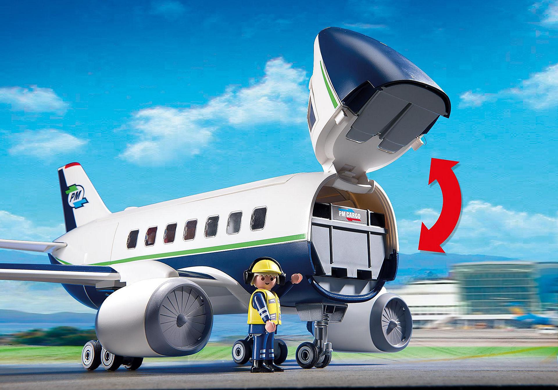 5261 Cargo- und Passagierflugzeug zoom image6