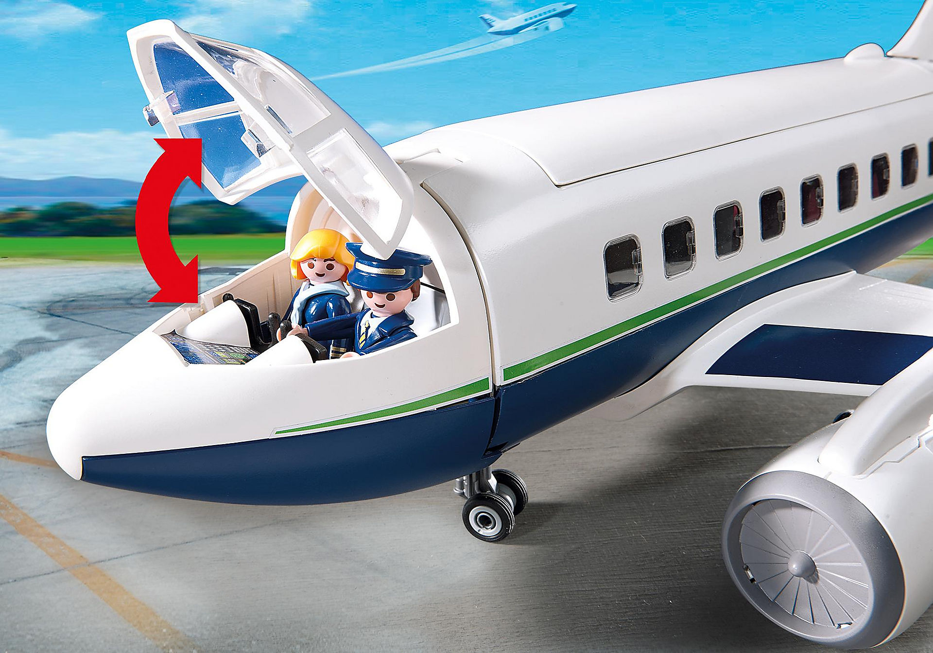 5261 Cargo- und Passagierflugzeug zoom image8