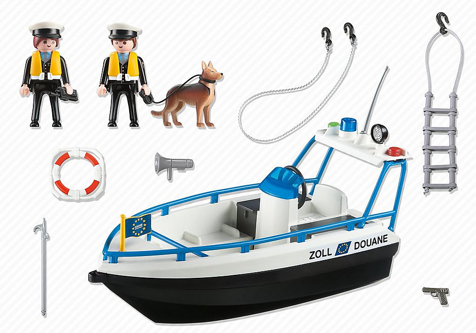 5263 Zollboot detail image 3