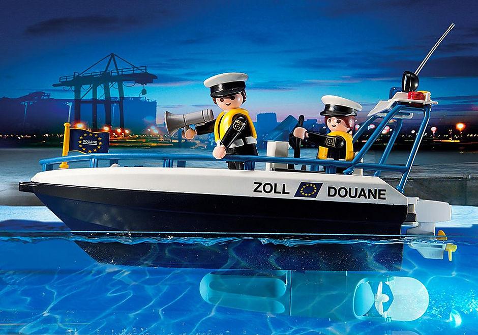 5263 Bateau des douaniers detail image 5