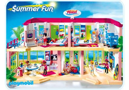 Hotel 5265 a playmobil for Playmobil modernes haus 9266