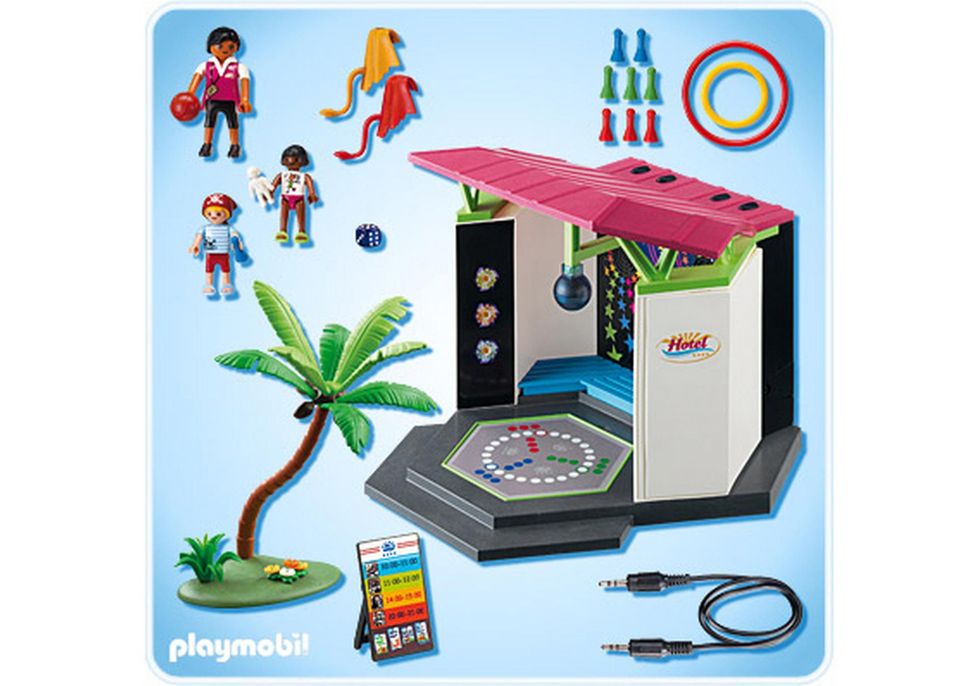 children s club with disco 5266 a playmobil