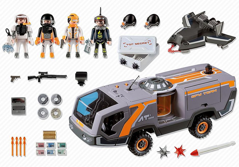 5286-A Spy Team Commander Truck detail image 2