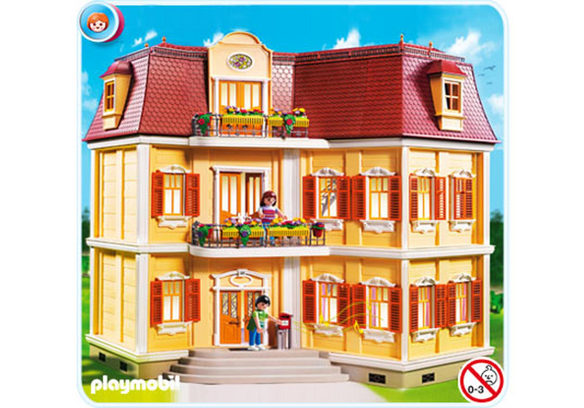mein gro es puppenhaus 5302 a playmobil deutschland. Black Bedroom Furniture Sets. Home Design Ideas