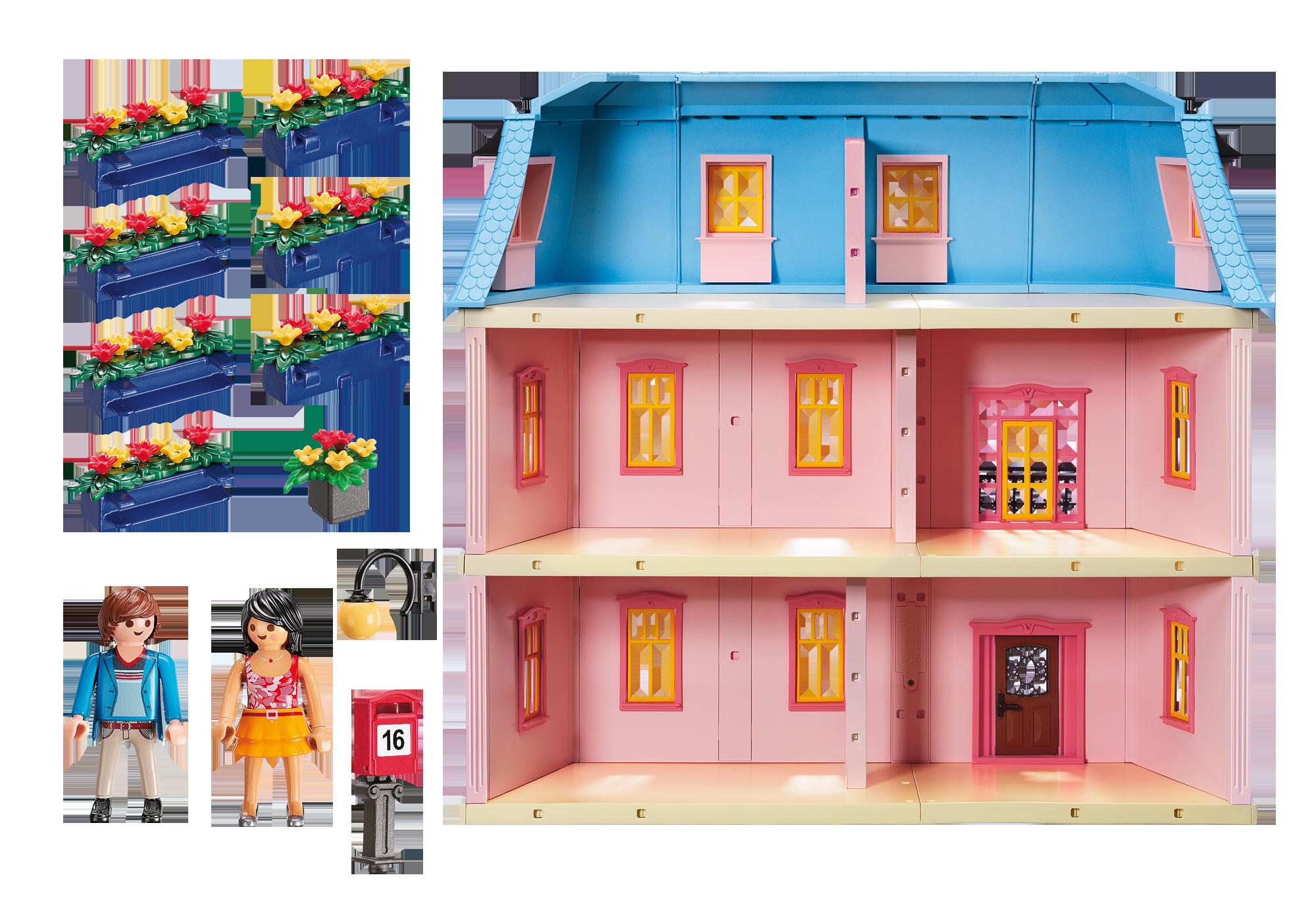 http://media.playmobil.com/i/playmobil/5303_product_box_back/Casa de Muñecas Romántica