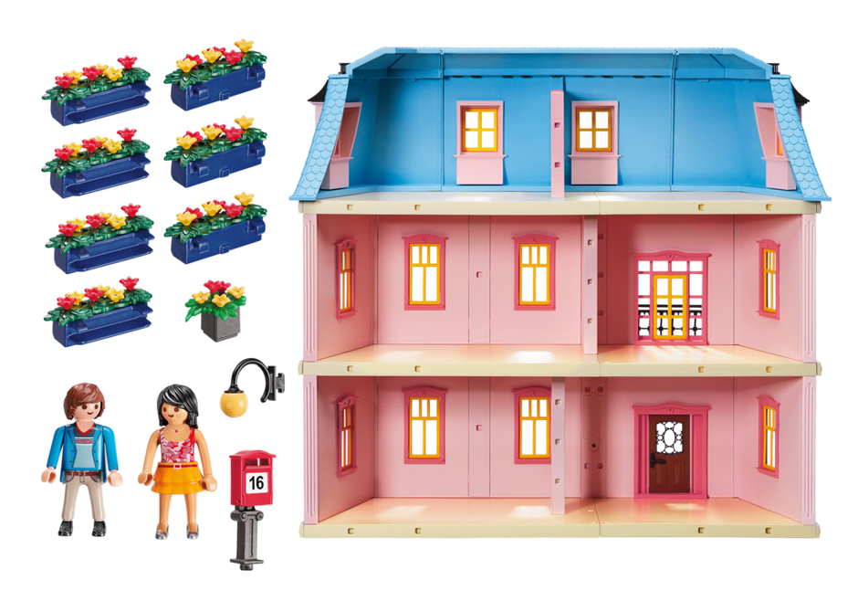 Deluxe Dollhouse - 5303 - PLAYMOBIL® USA