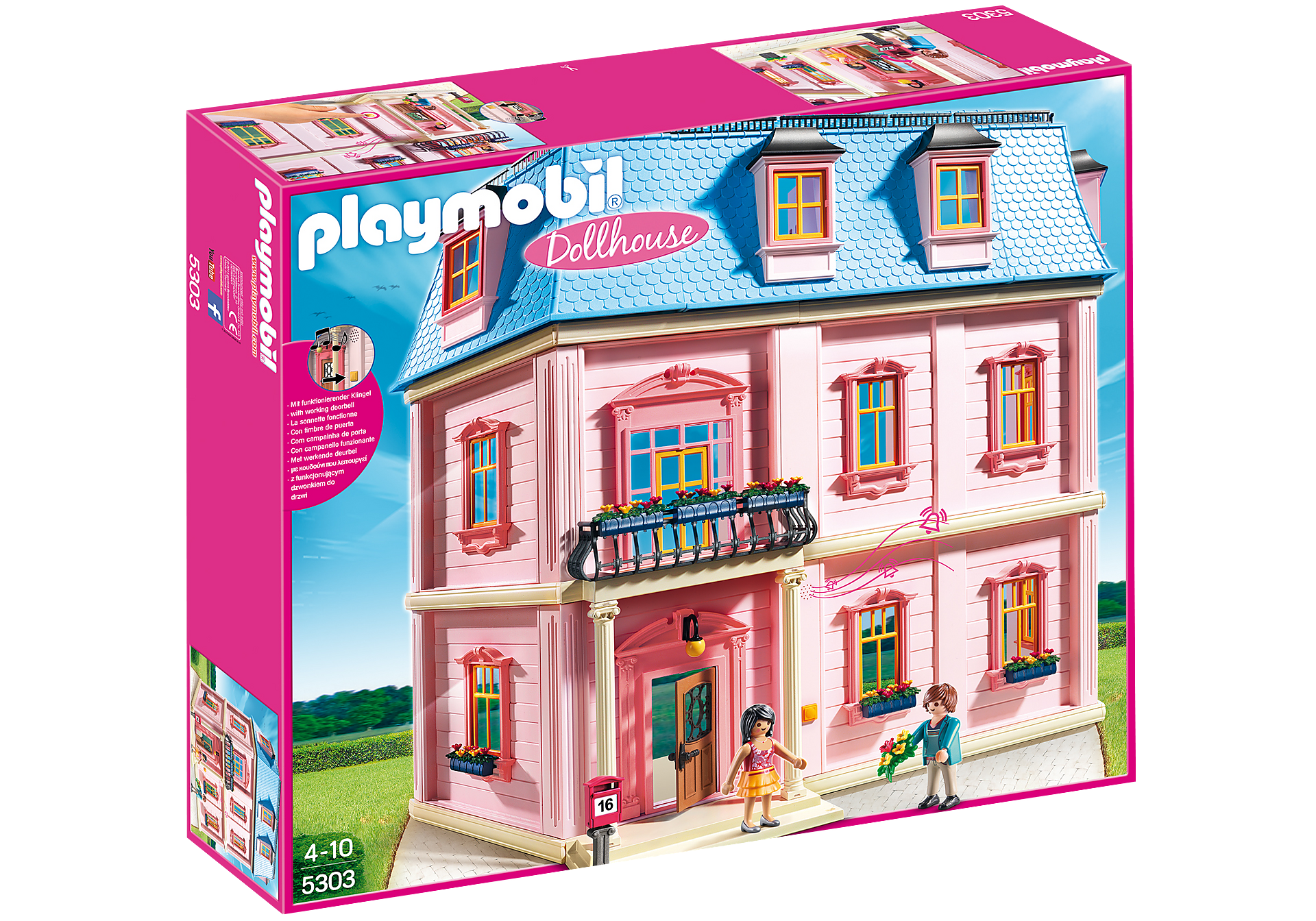 5303 Deluxe Dollhouse zoom image3