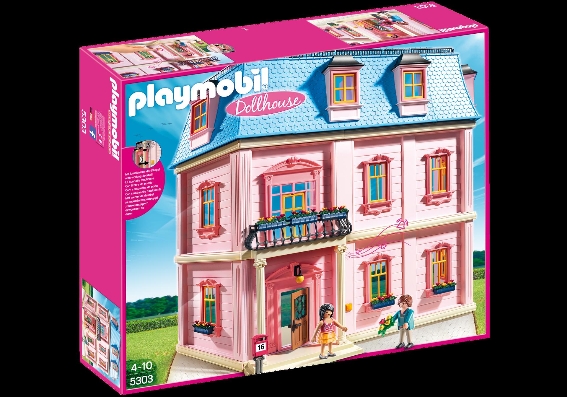 Casa de mu ecas rom ntica 5303 playmobil espa a for Casa moderna de lujo playmobil