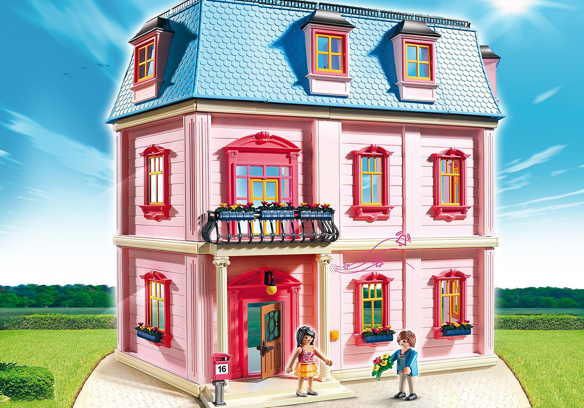 5303 Deluxe Dollhouse zoom image1