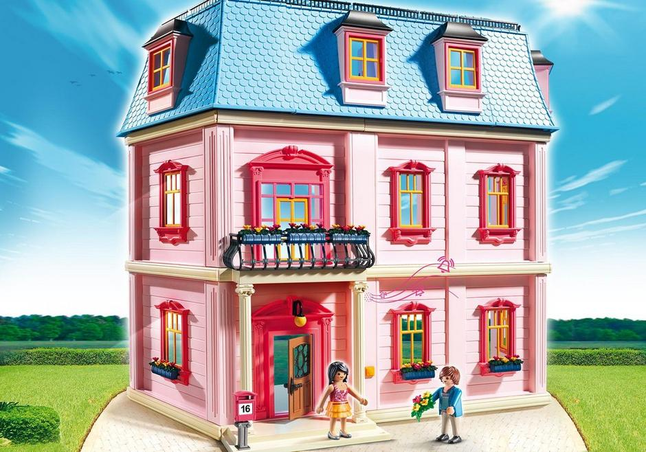 Deluxe dollhouse 5303 playmobil united kingdom for Salle a manger playmobil