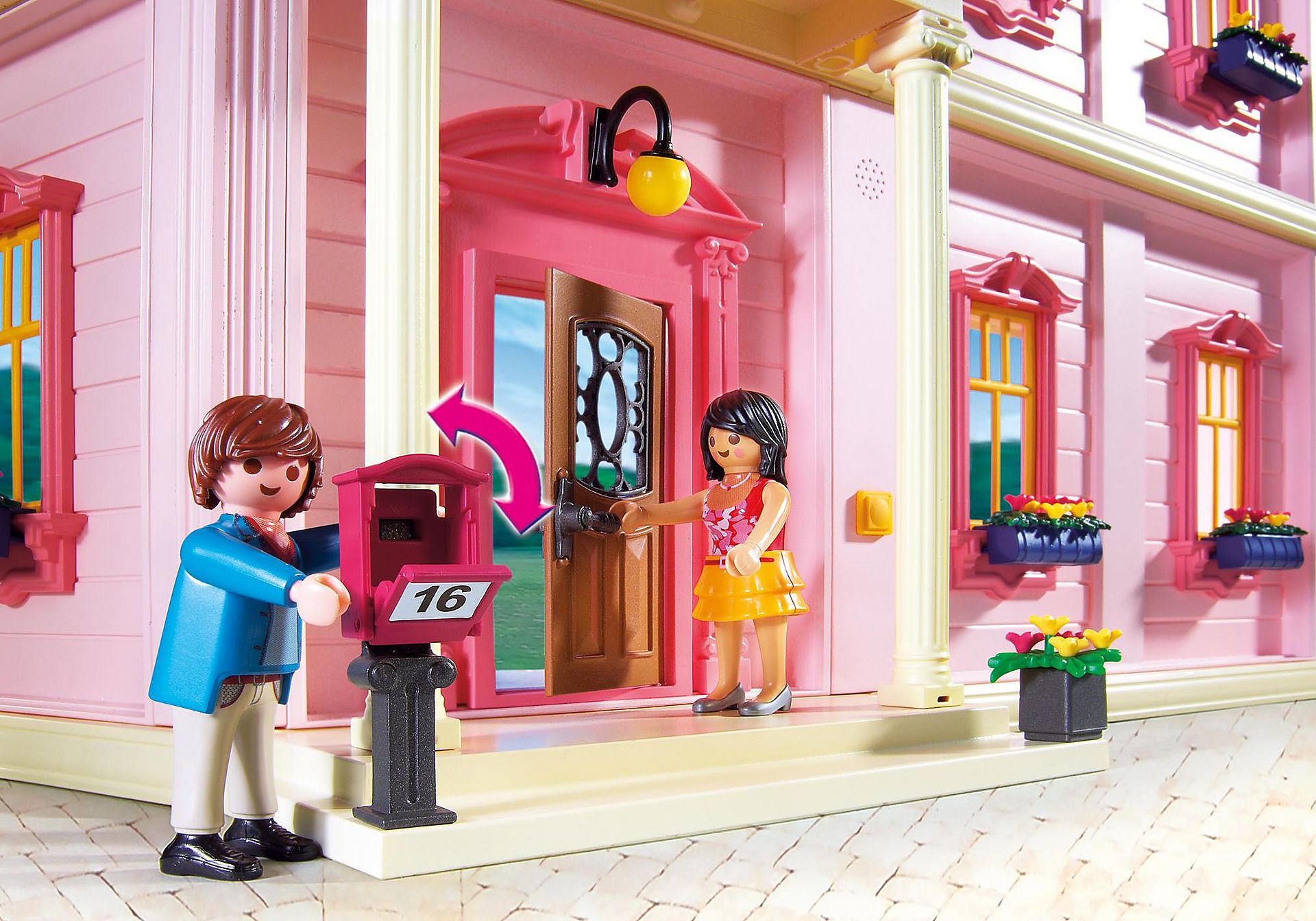 http://media.playmobil.com/i/playmobil/5303_product_extra1/Πολυτελές Κουκλόσπιτο