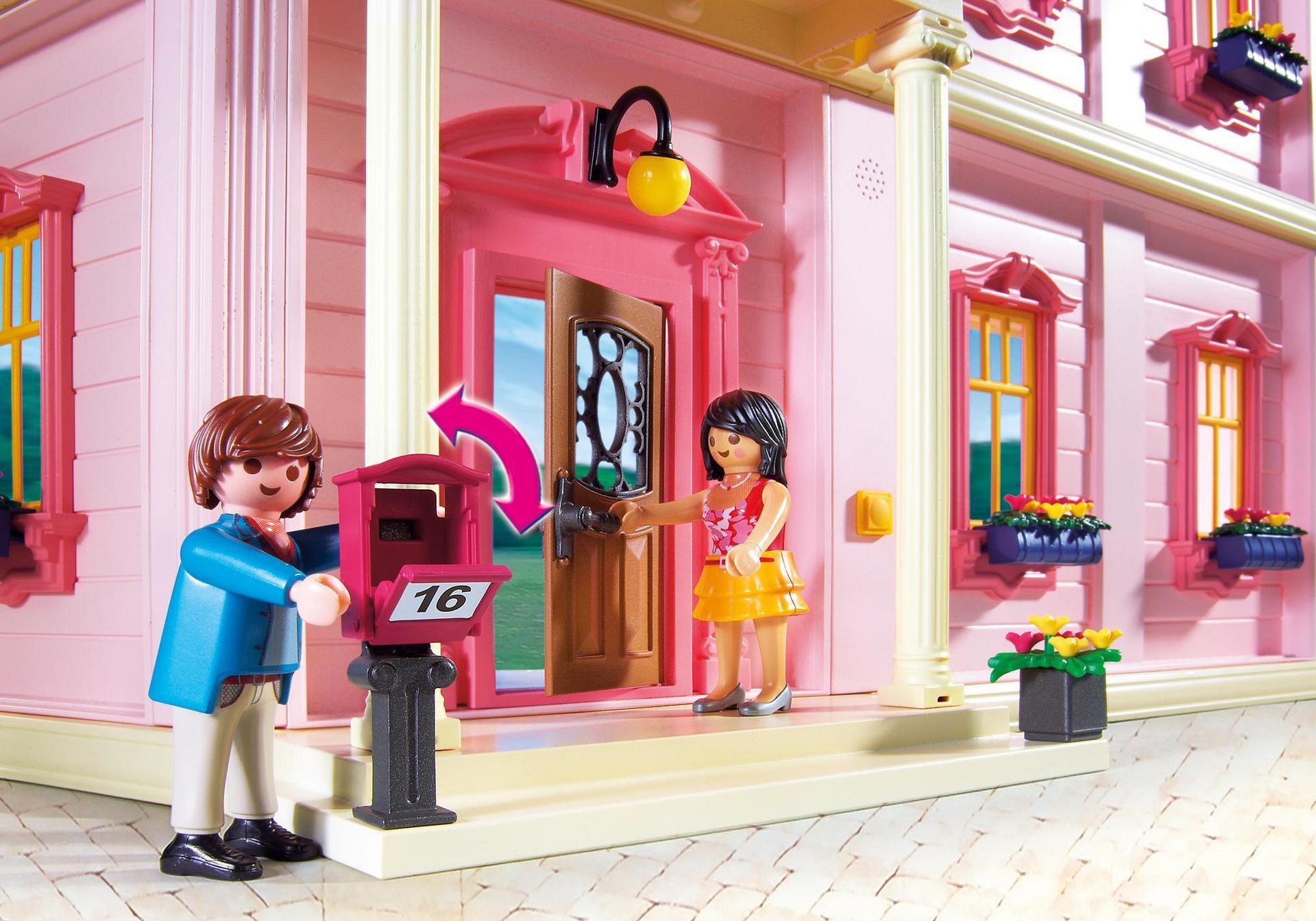 Casa de mu ecas rom ntica 5303 playmobil espa a - Gran casa de munecas playmobil ...