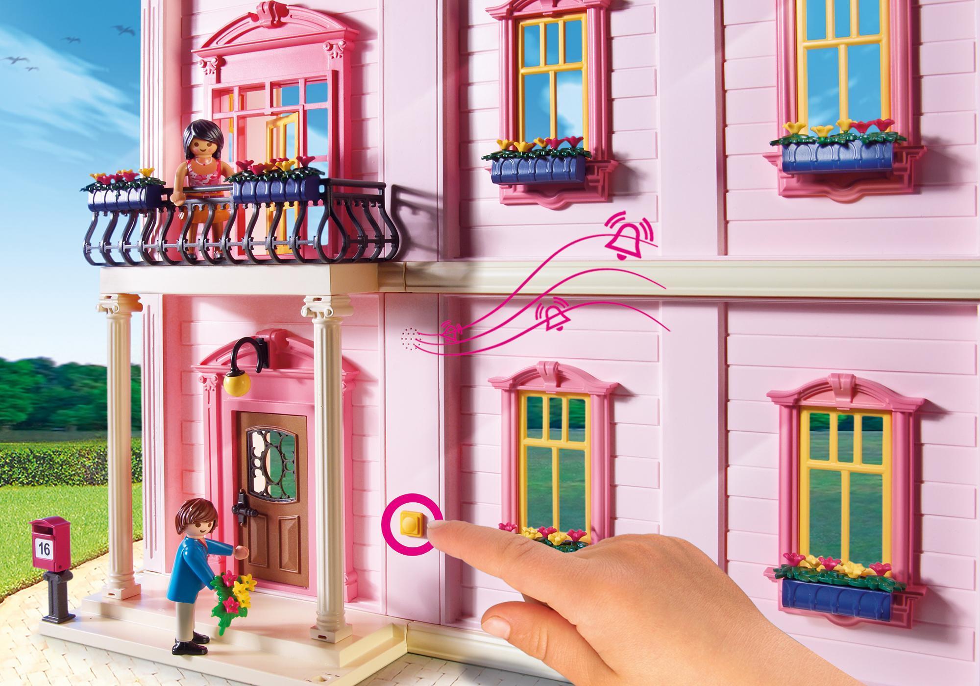 Playmobil Dollhouse Slaapkamer : Herenhuis playmobil nederland