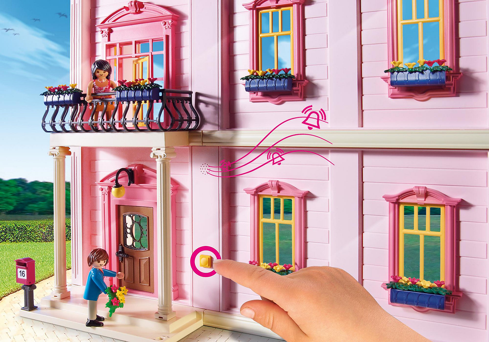 5303 Deluxe Dollhouse zoom image6