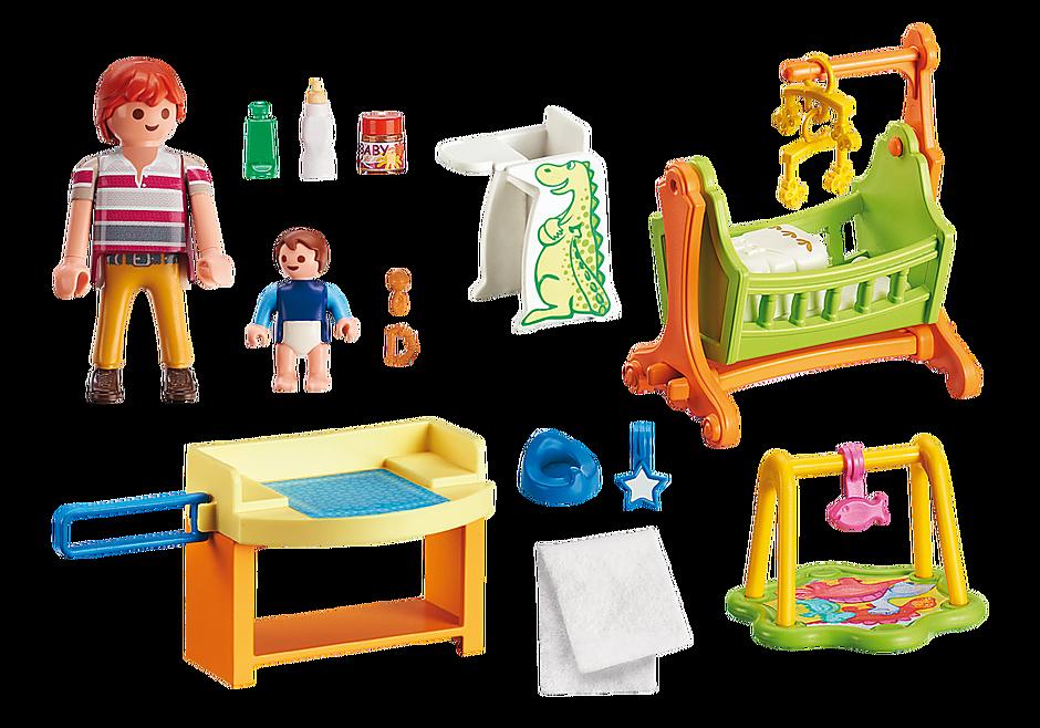 http://media.playmobil.com/i/playmobil/5304_product_box_back/Pokój dla niemowlaka z łóżeczkiem