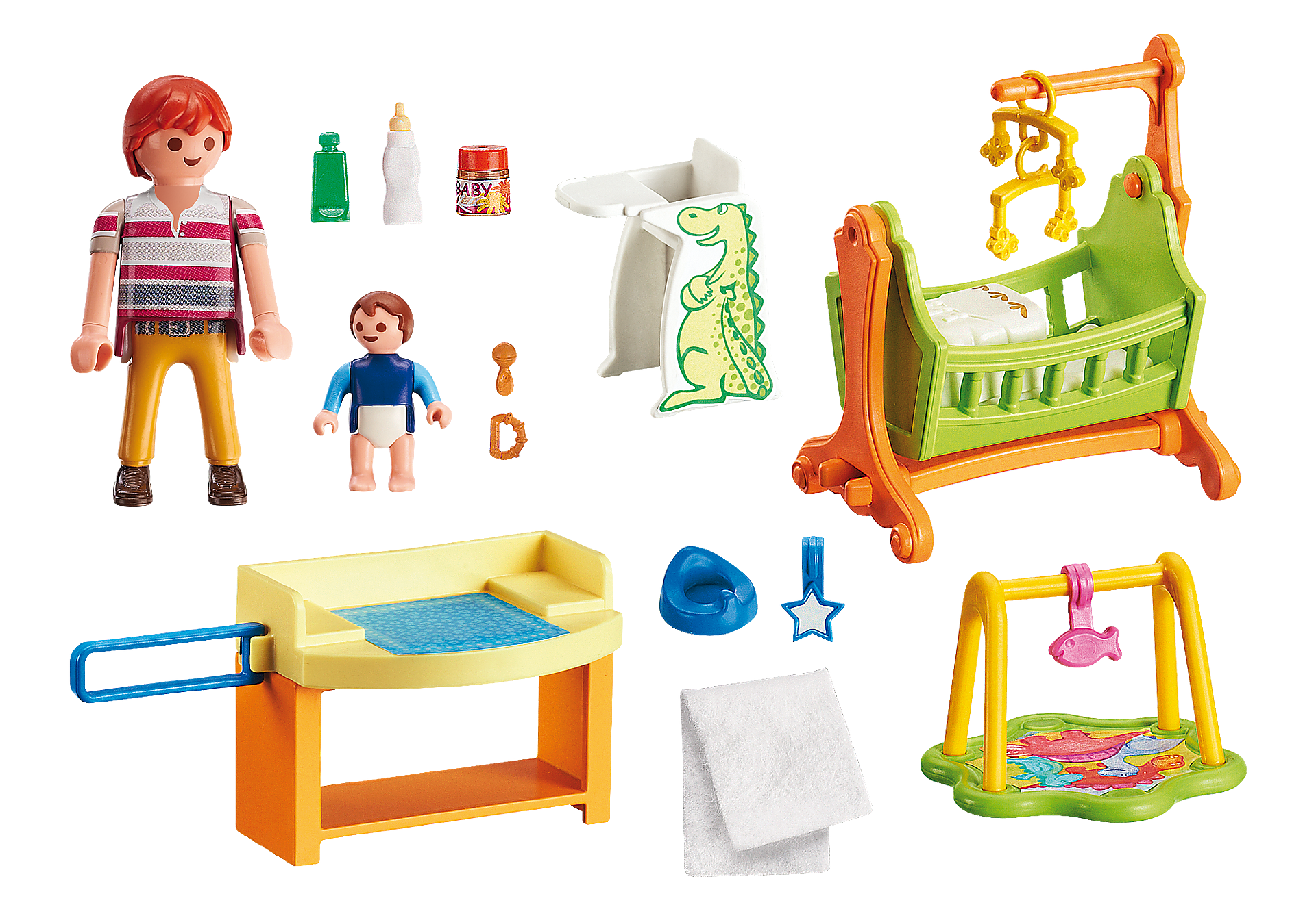 http://media.playmobil.com/i/playmobil/5304_product_box_back/Quarto de Bebé com Berço