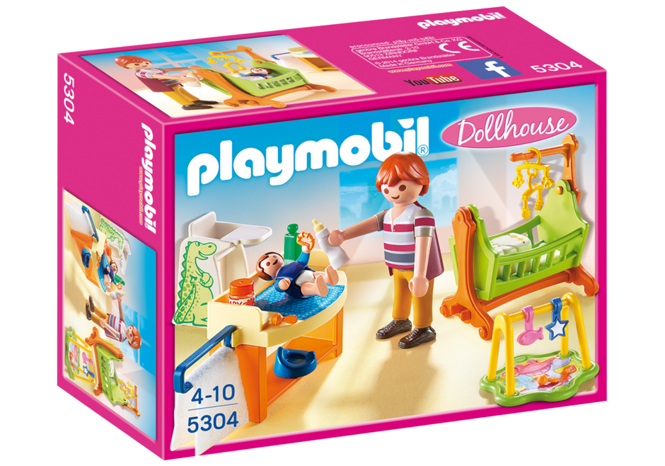 Baby Room With Cradle 5304 Playmobil 174 Canada