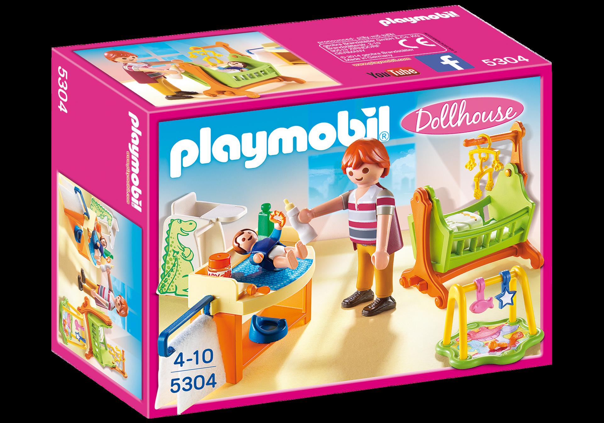Chambre de b b 5304 playmobil france - Playmobil chambre enfant ...