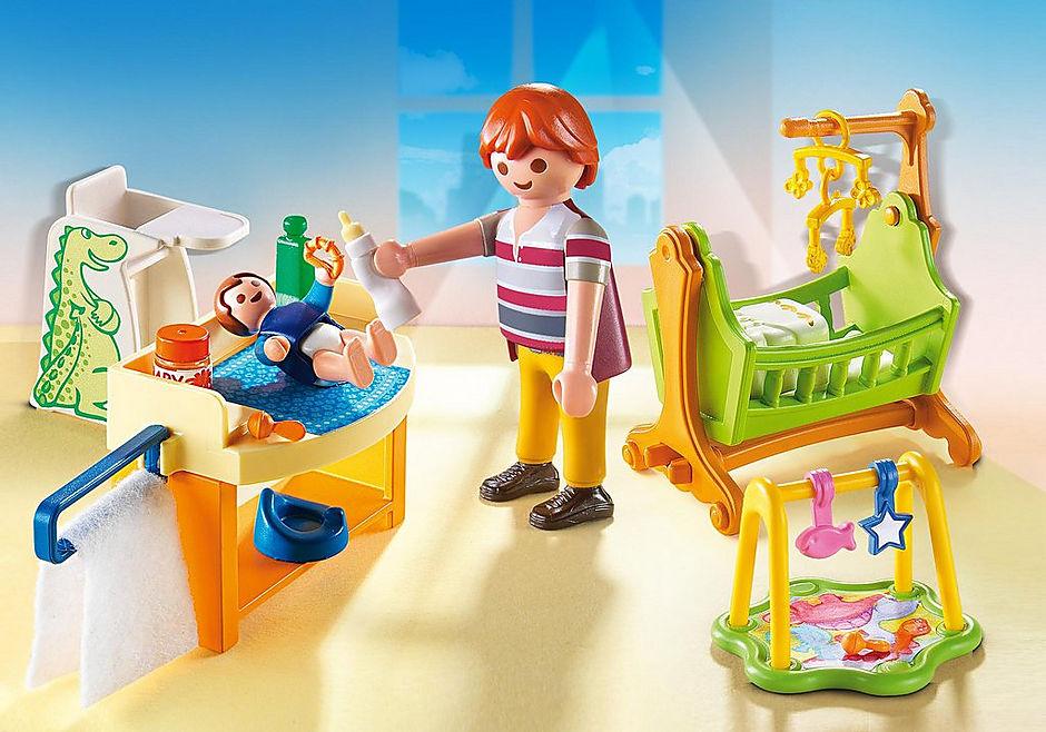 5304 Babyzimmer mit Wiege detail image 1
