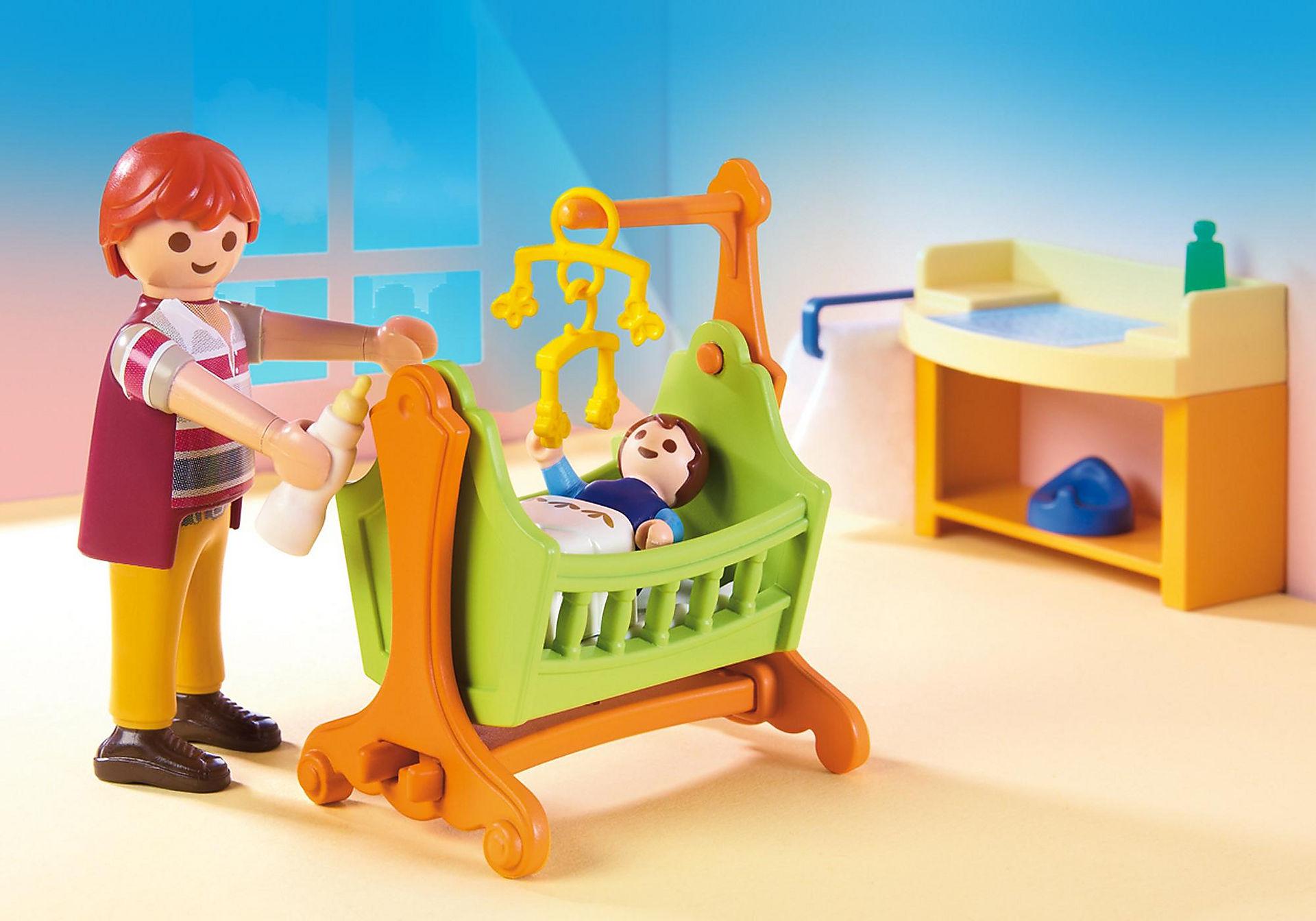 http://media.playmobil.com/i/playmobil/5304_product_extra1/Pokój dla niemowlaka z łóżeczkiem