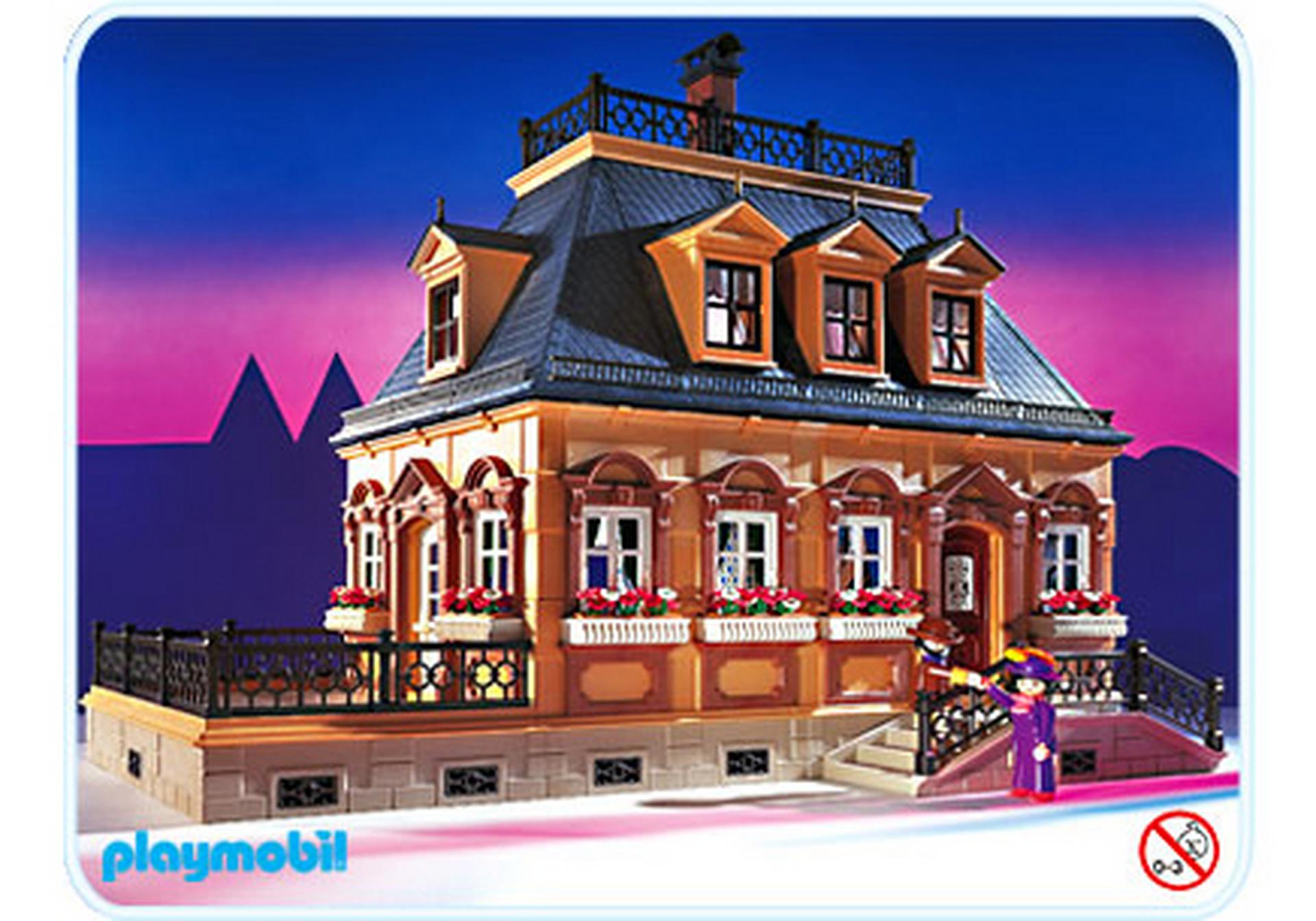 Villa kleines puppenhaus 5305 a playmobil for Mansion de playmobil