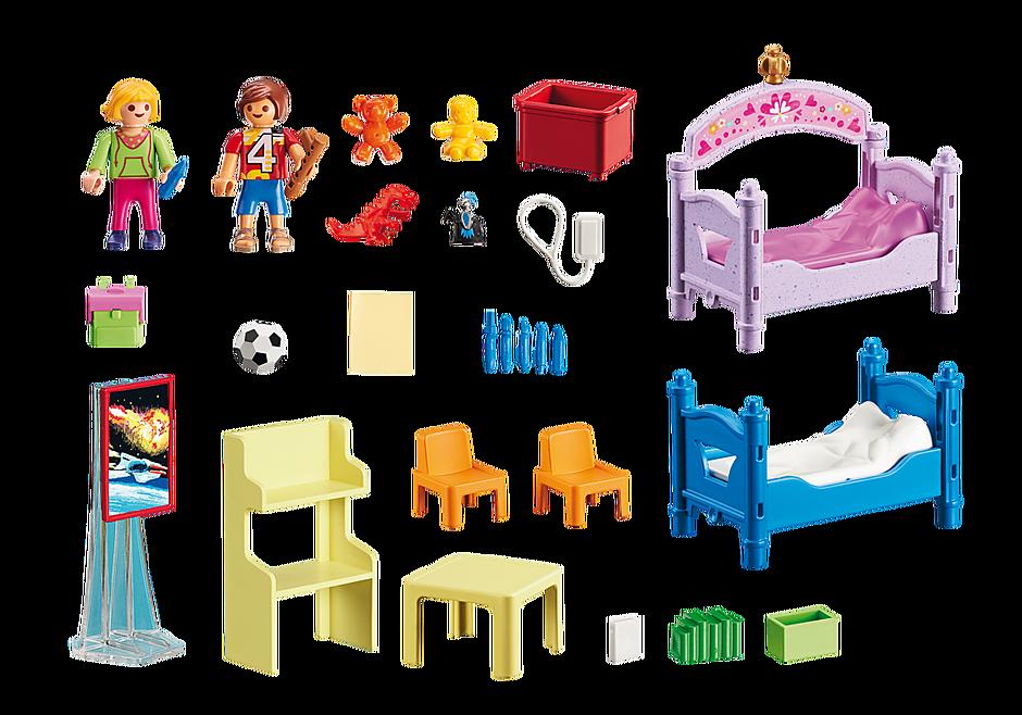 5306 Chambre d'enfants avec lits superposés detail image 3