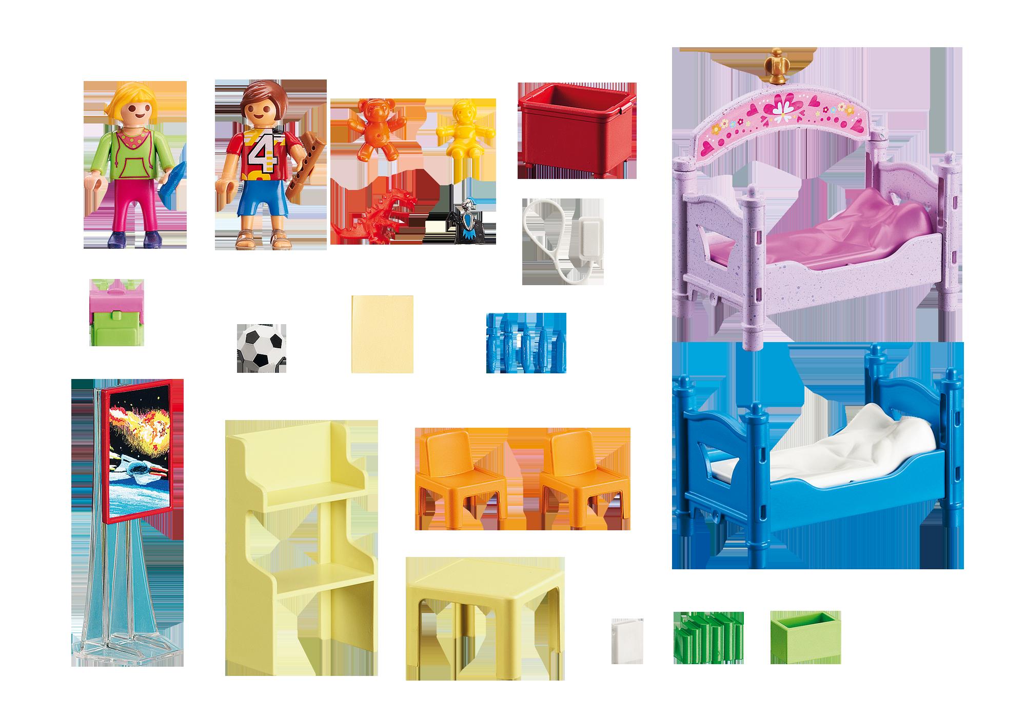 http://media.playmobil.com/i/playmobil/5306_product_box_back/Färgglatt barnrum