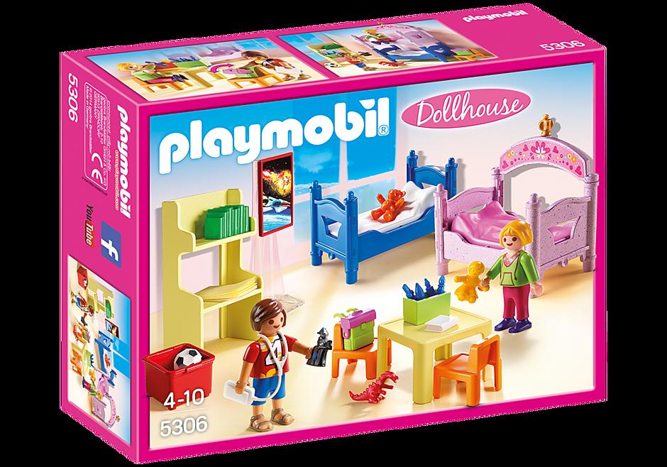 http://media.playmobil.com/i/playmobil/5306_product_box_front/Chambre d'enfants avec lits superposés