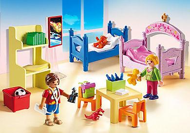 5306 Chambre d'enfants avec lits superposés
