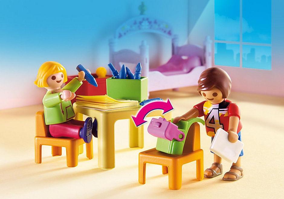 5306 Chambre d'enfants avec lits superposés detail image 5