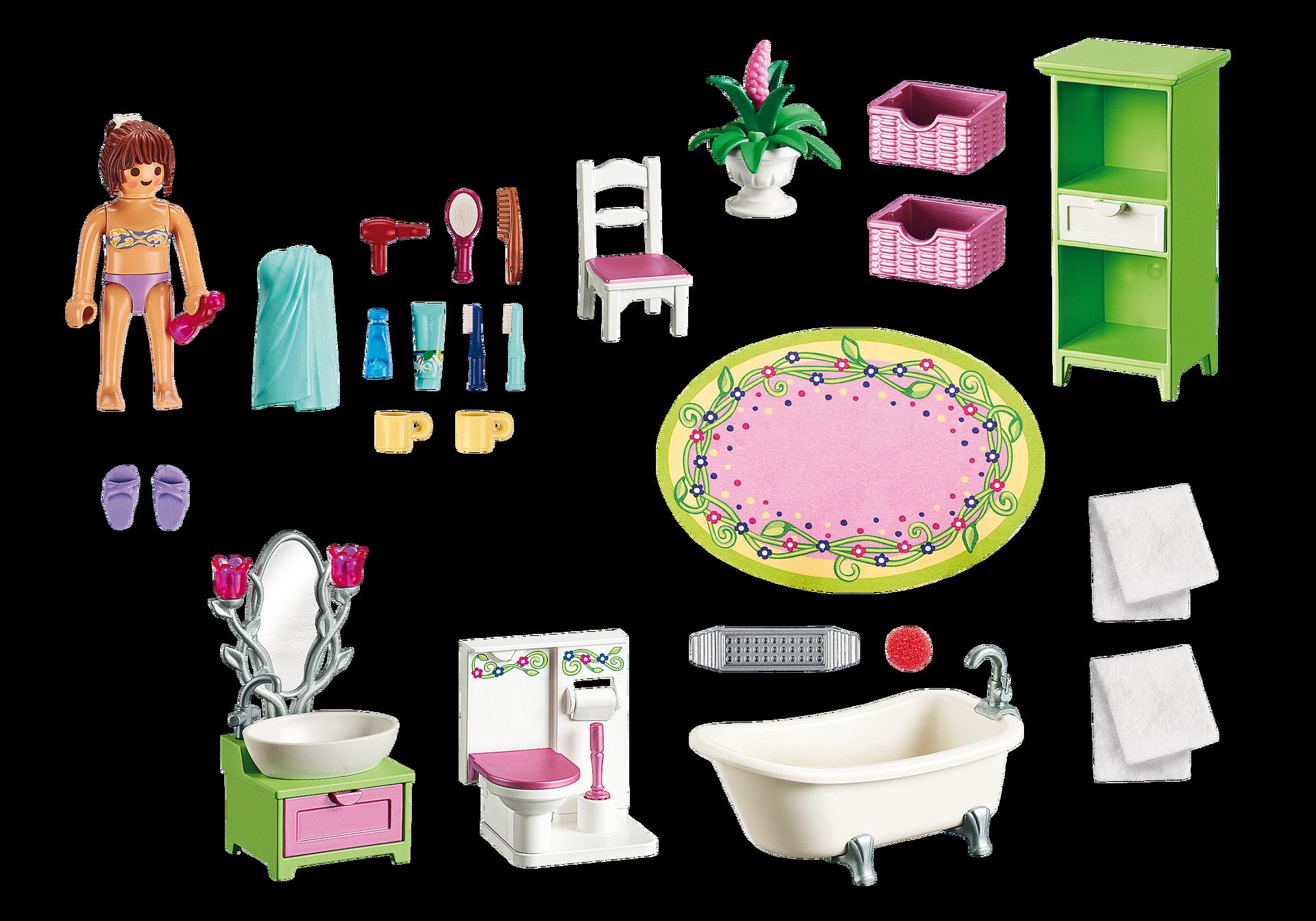 Vintage Bathroom - 5307 - PLAYMOBIL® United Kingdom