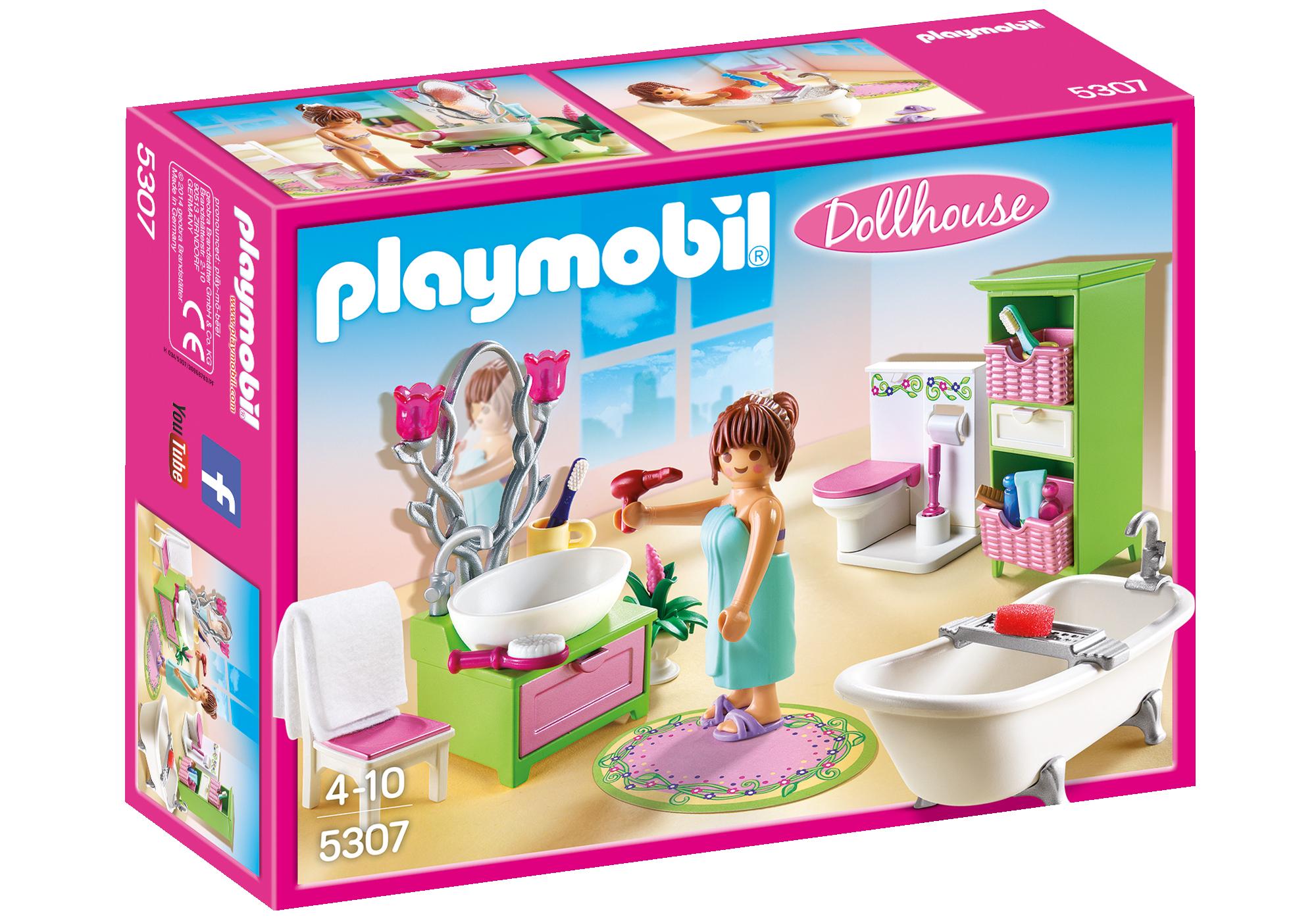 Salle De Bains Et Baignoire 5307 Playmobil France
