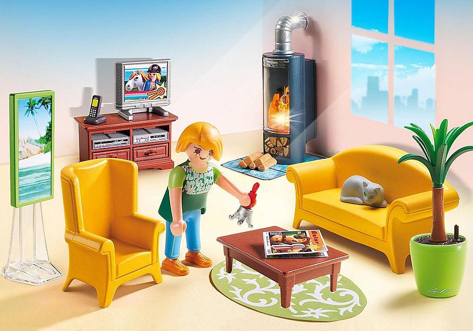 5308 Sala de Estar con Fuego detail image 1