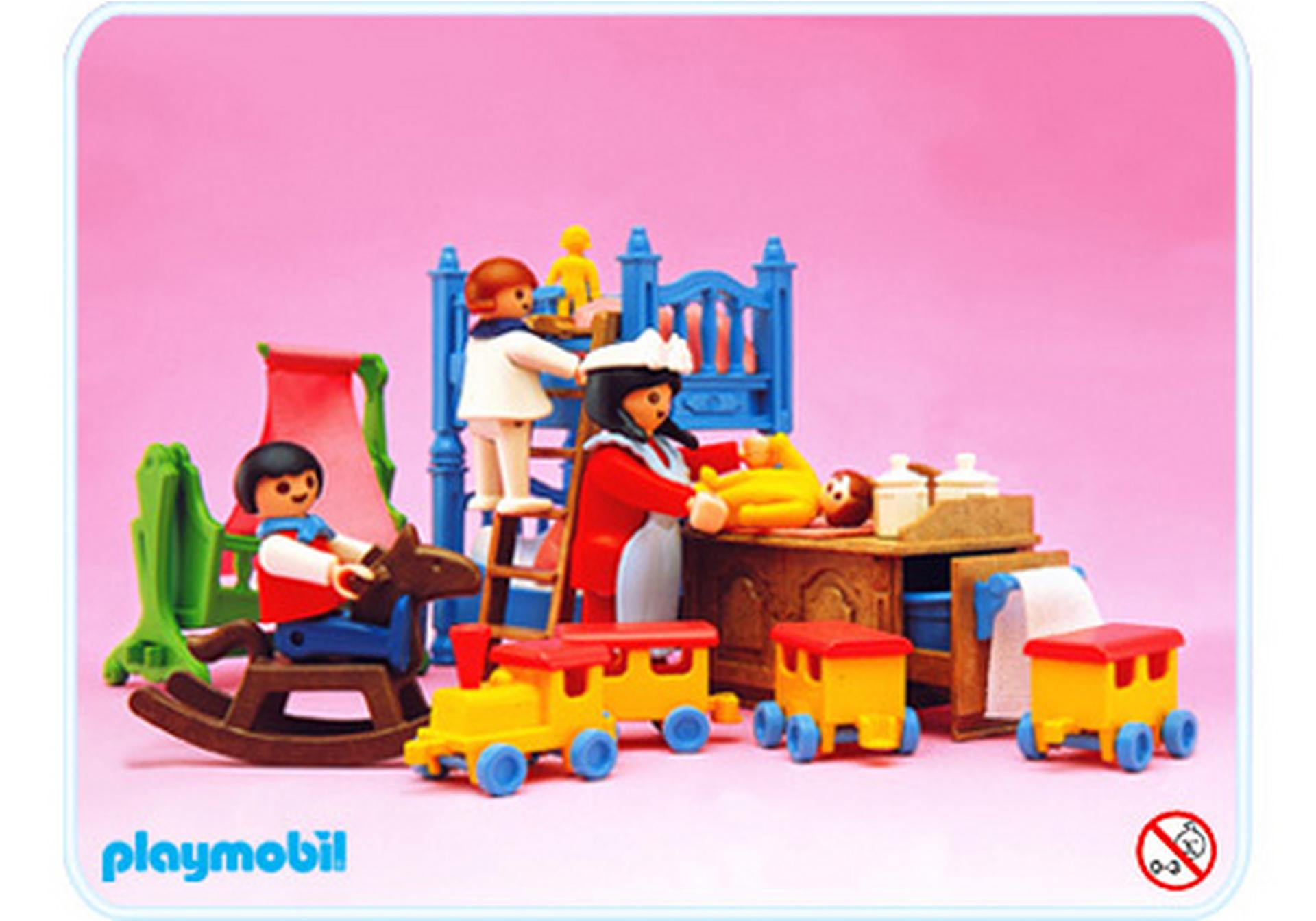 Chambre d enfants 5311 a playmobil france for Playmobil chambre enfant