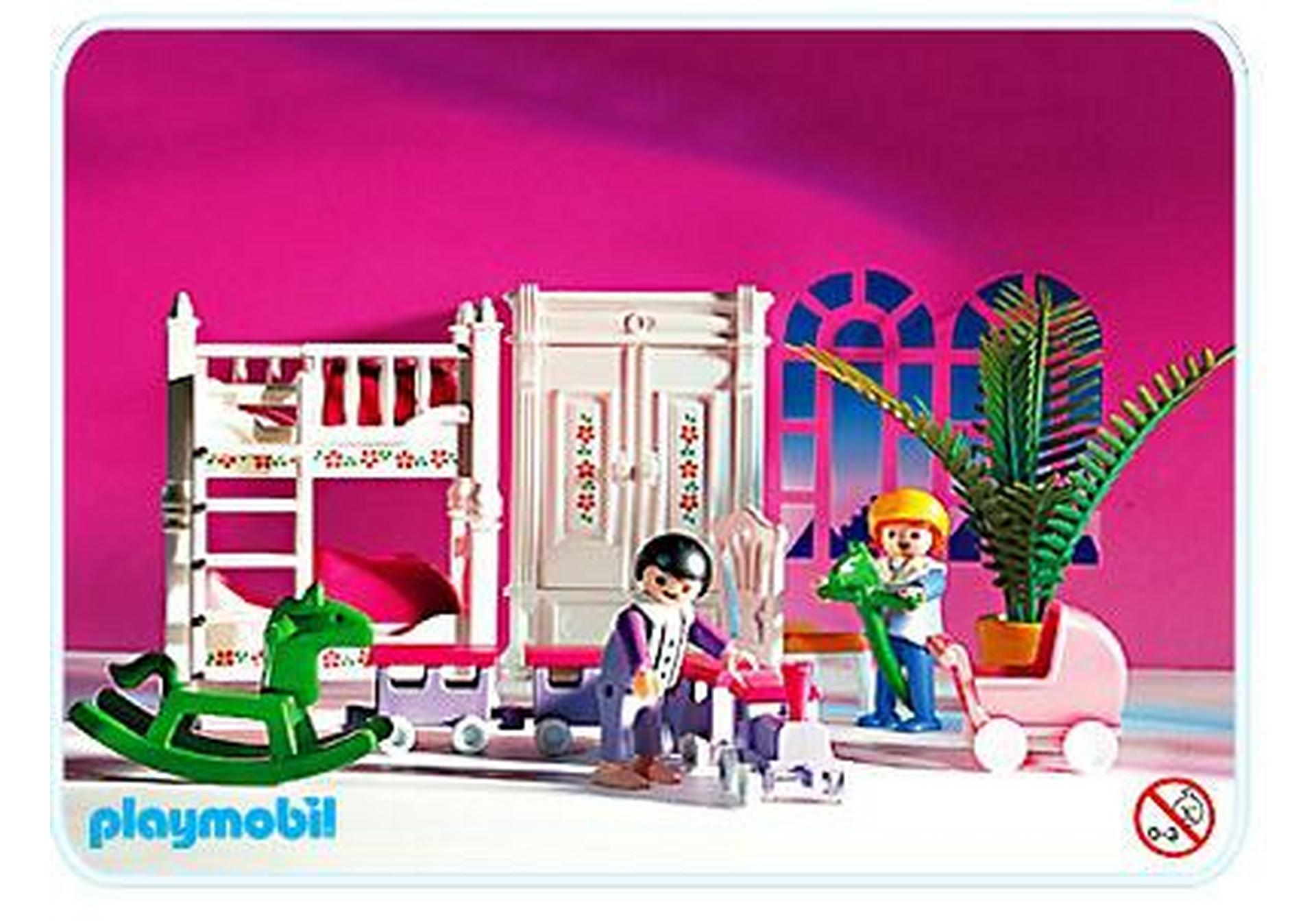 Kinderzimmer mit stockbetten 5312 a playmobil for Chambre playmobil