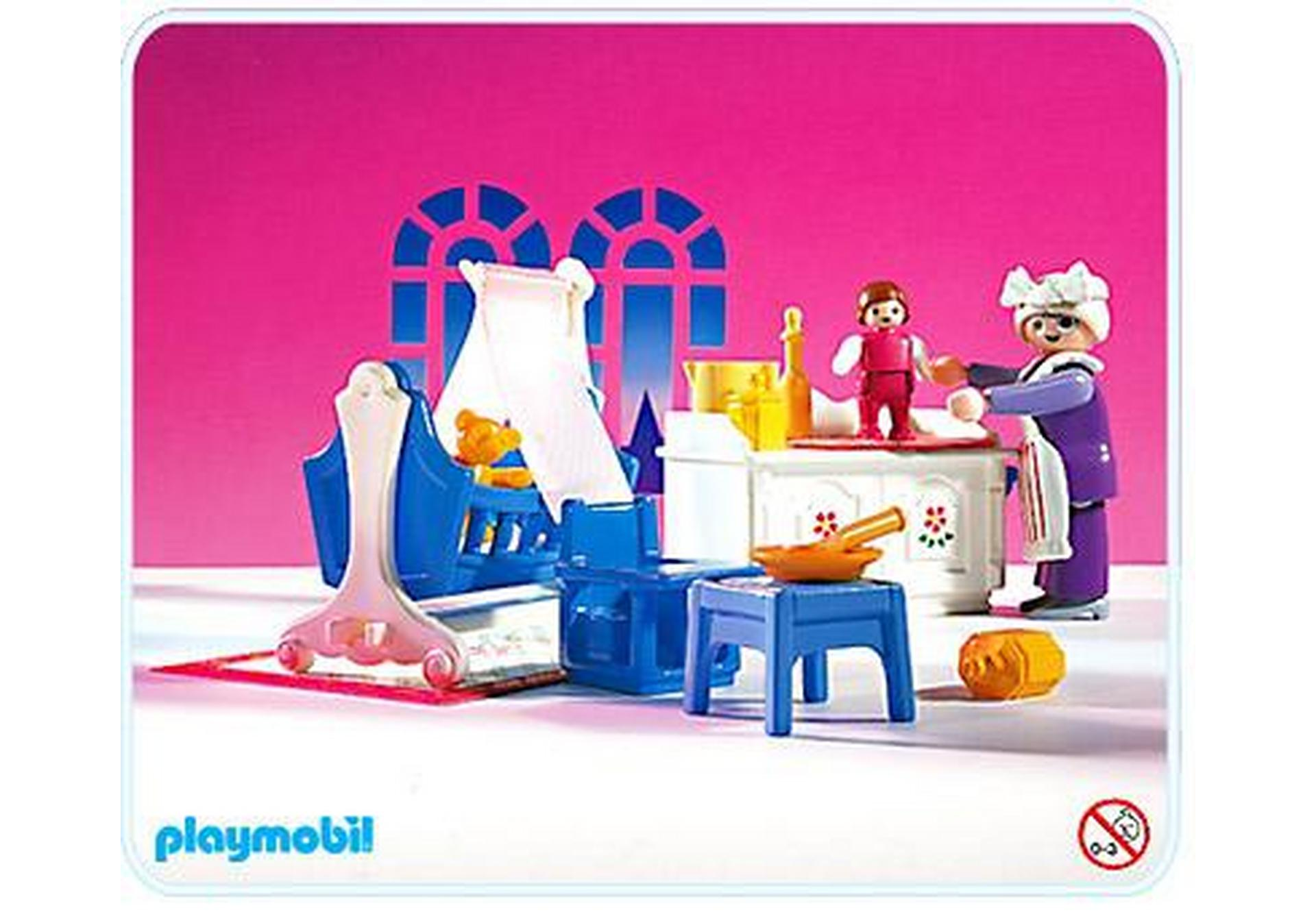 Chambre du b b 5313 a playmobil france for Playmobil chambre enfant