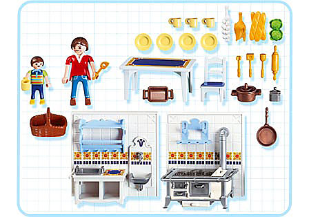 5317-A Famille / cuisine traditionnelle detail image 2