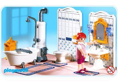 Maman Salle De Bains Traditionnelle 5318 A Playmobil France