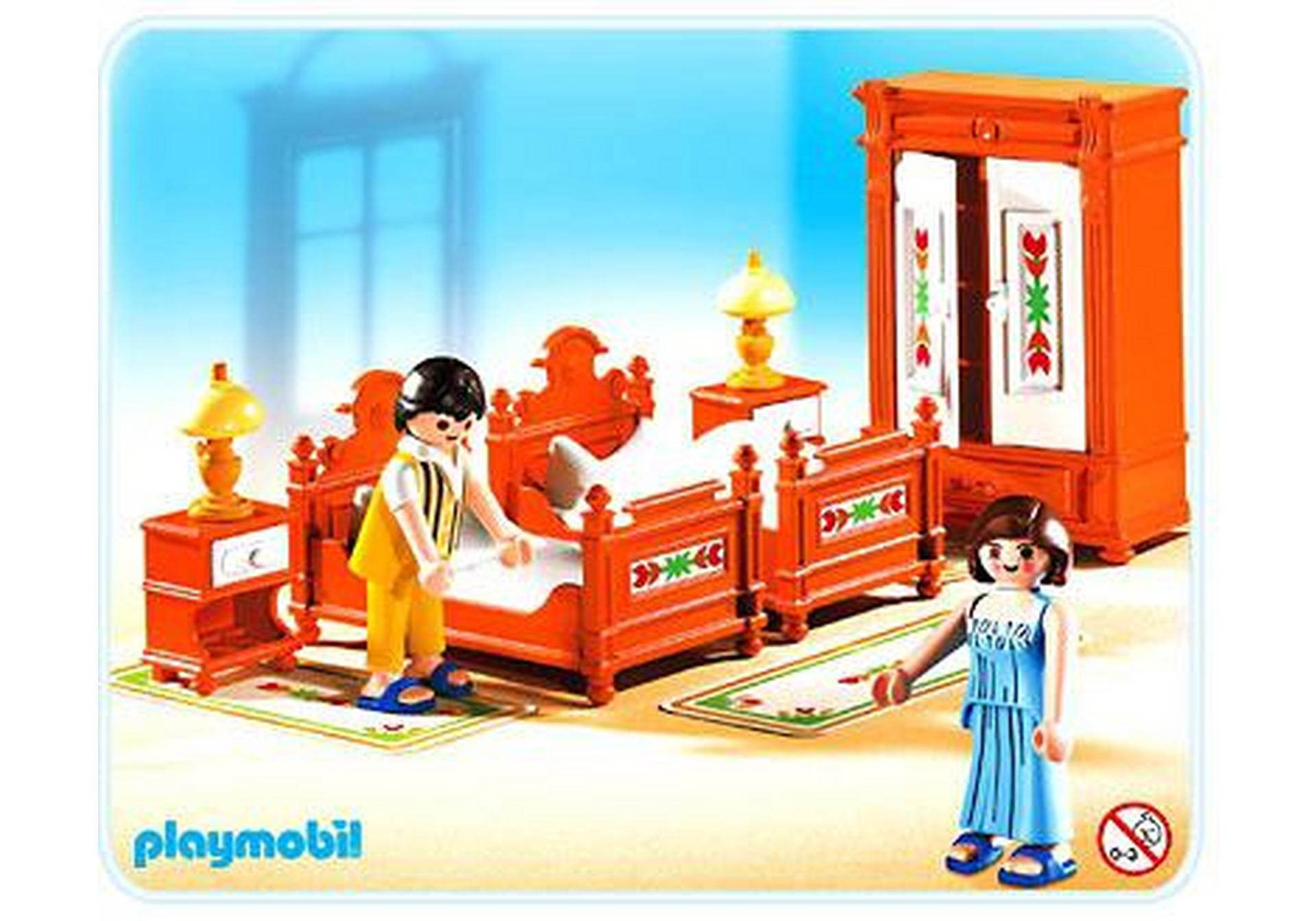 Parents chambre traditionnelle 5319 a playmobil france - Chambre parents playmobil ...