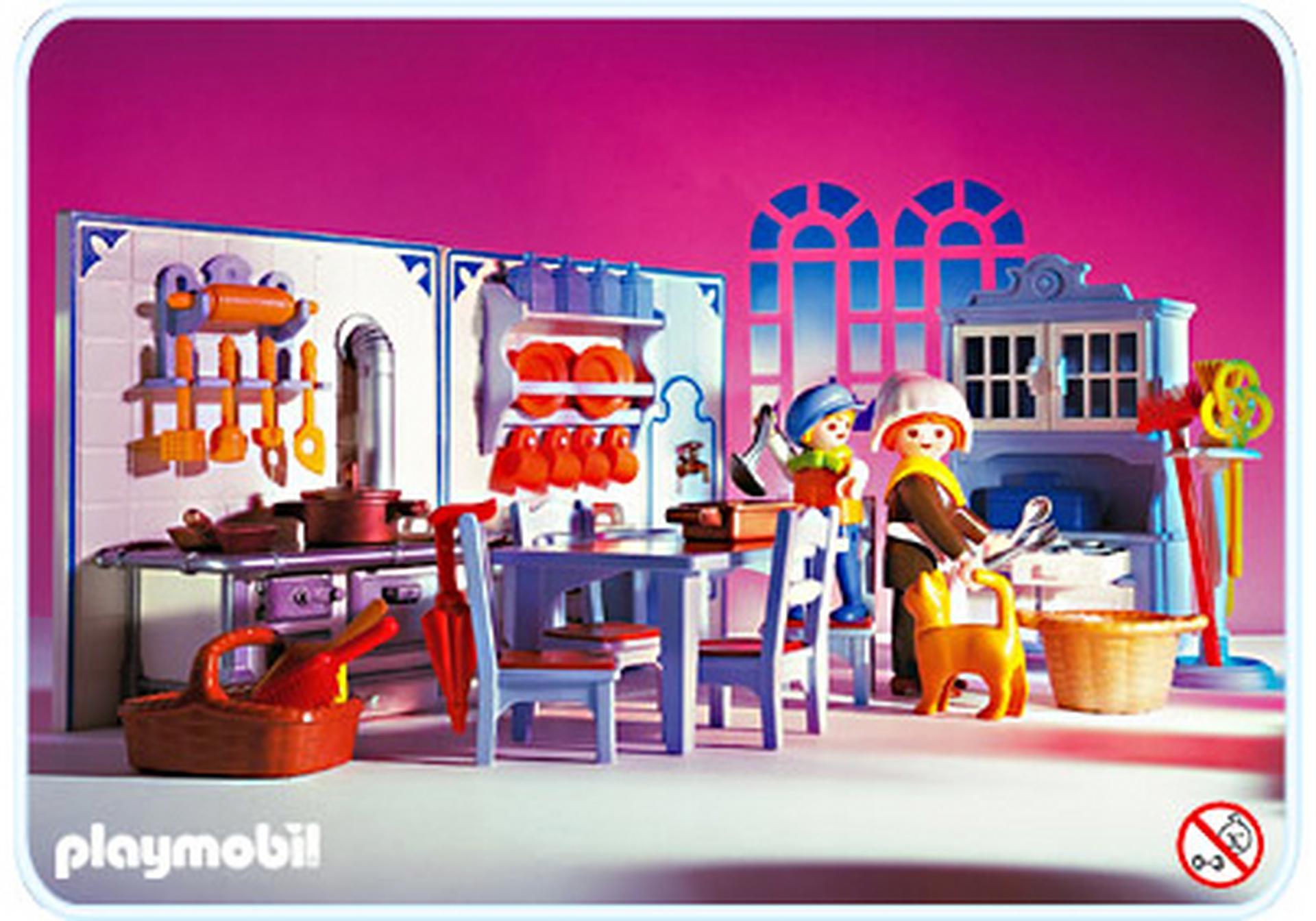 cuisine 5322 a playmobil france. Black Bedroom Furniture Sets. Home Design Ideas