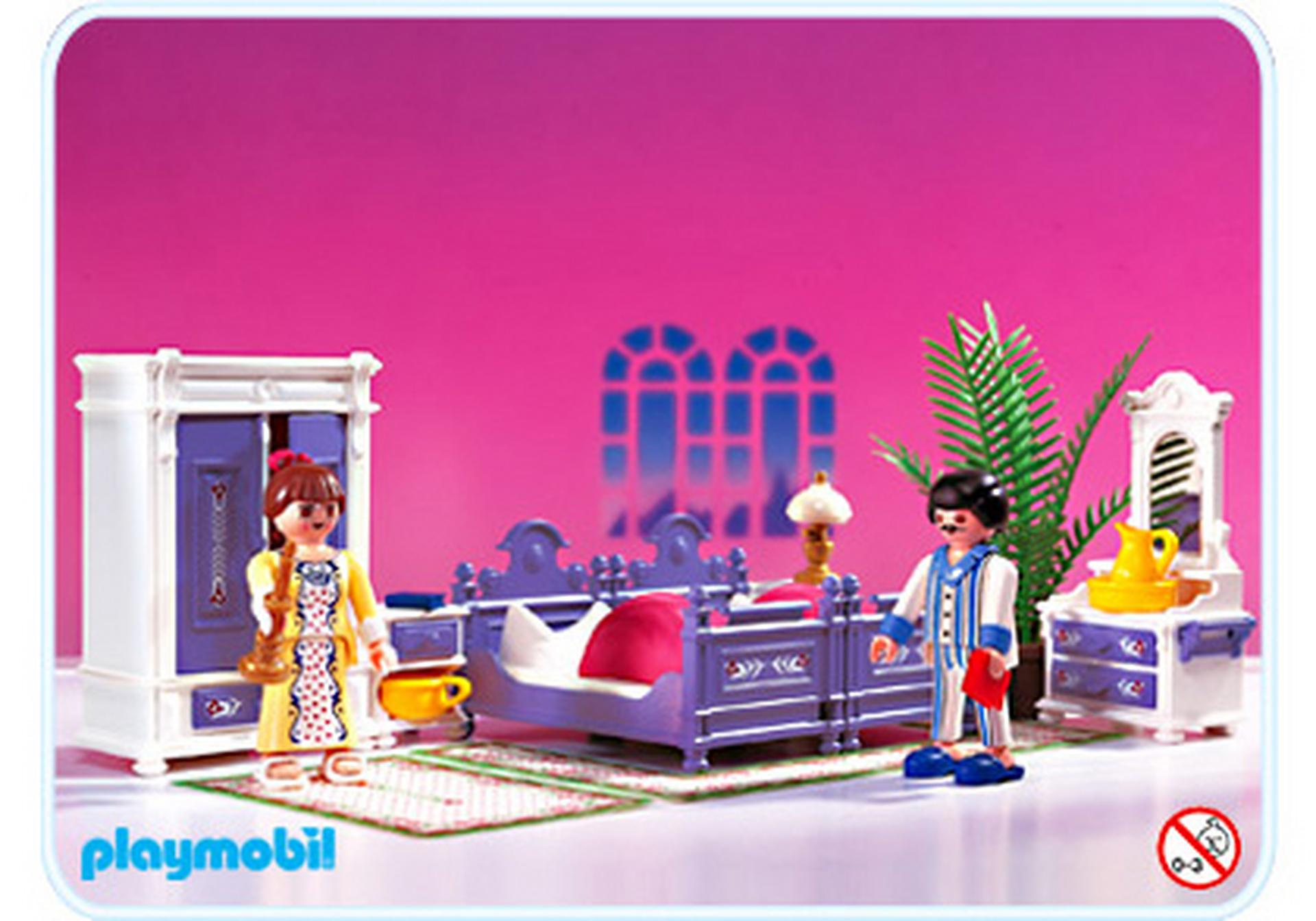 Parents chambre 5325 a playmobil france - Chambre parents playmobil ...
