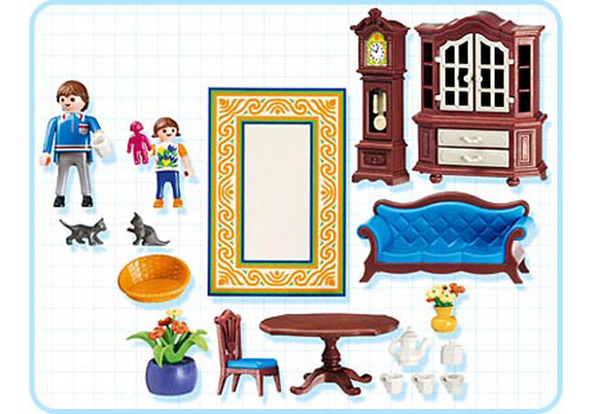 Romantisches wohnzimmer 5327 a playmobil deutschland - Romantisches wohnzimmer ...